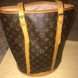 CERTIFIED AUTHENTIC LV Bucket GM Tote Bag